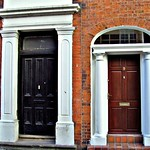 Little and large doorways at Preston, England