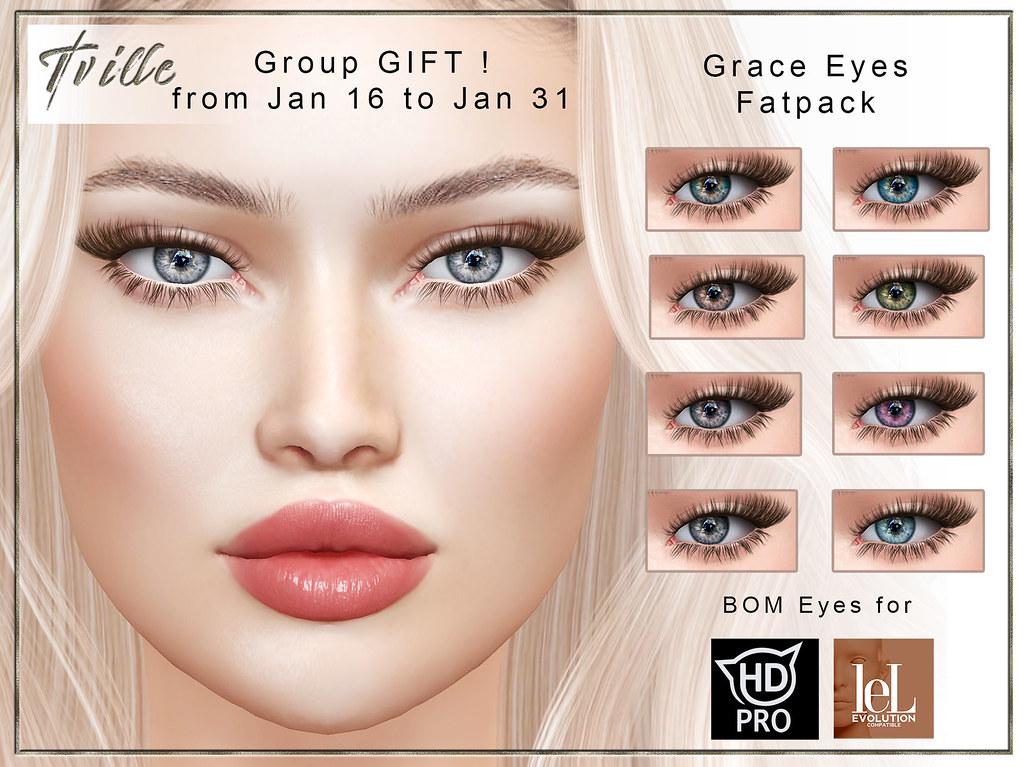 Tville Grace Eyes (BOM)  Group GIFT