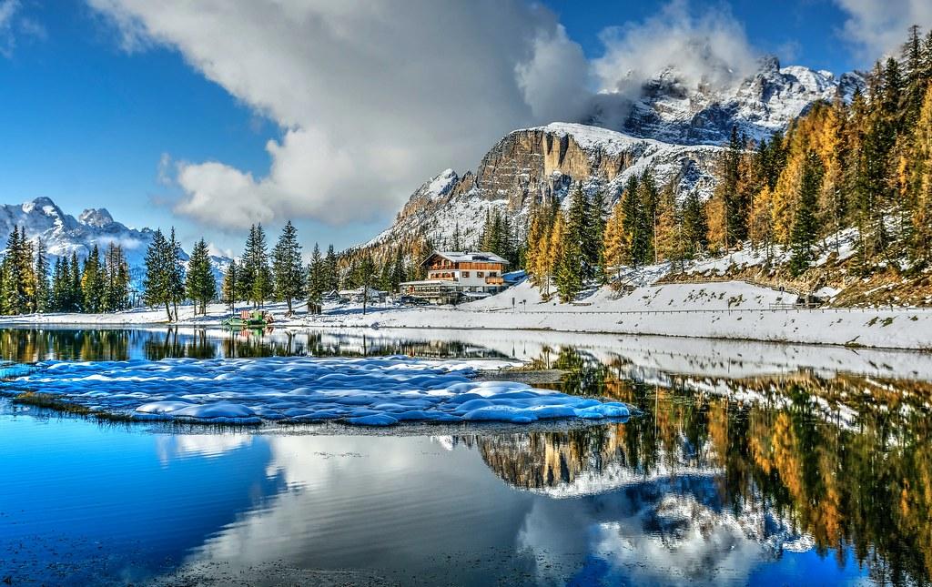 Snow island ( on Explore)