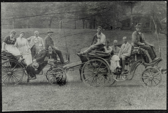 ArchivTappen2AAl2d481 Kutschenfahrt, Fotoalbum, 1900-1930er