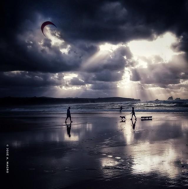 Valdearenas Beach.