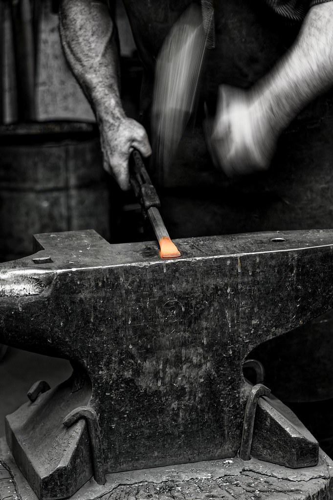 Man at work - Schmied / Blacksmith