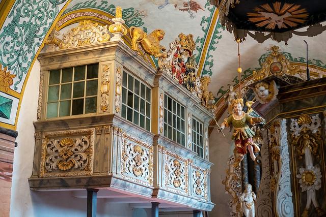 Evangelische Kirche Rerik (Mecklenburg-Vorpommern): Wustrowsche Patronatsempore