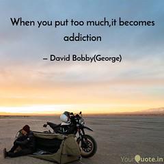 David Bobby George quote