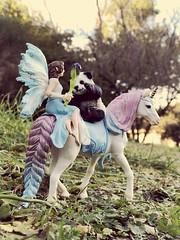 Fairy Rescuing Panda ud83dudc3c