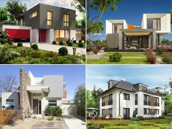Idées de façades de maisons modernes: photos et jolies idées