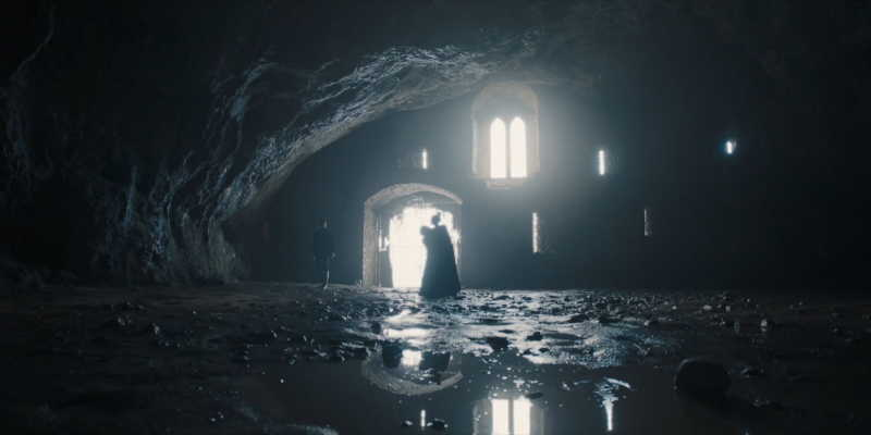 Caverna de Wogan en castillo de Pembroke