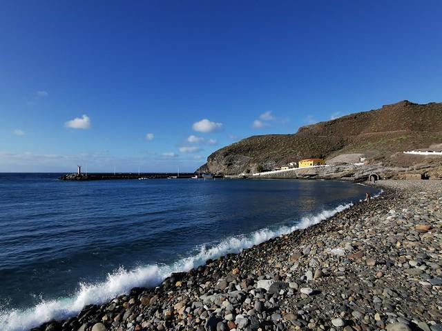 El Charco de La Aldea playa La Aldea de San Nicolás de Tolentino Gran Canaria 01