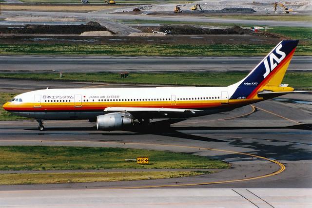 Japan Air System | Airbus A300B2 | JA8466 | Tokyo Haneda