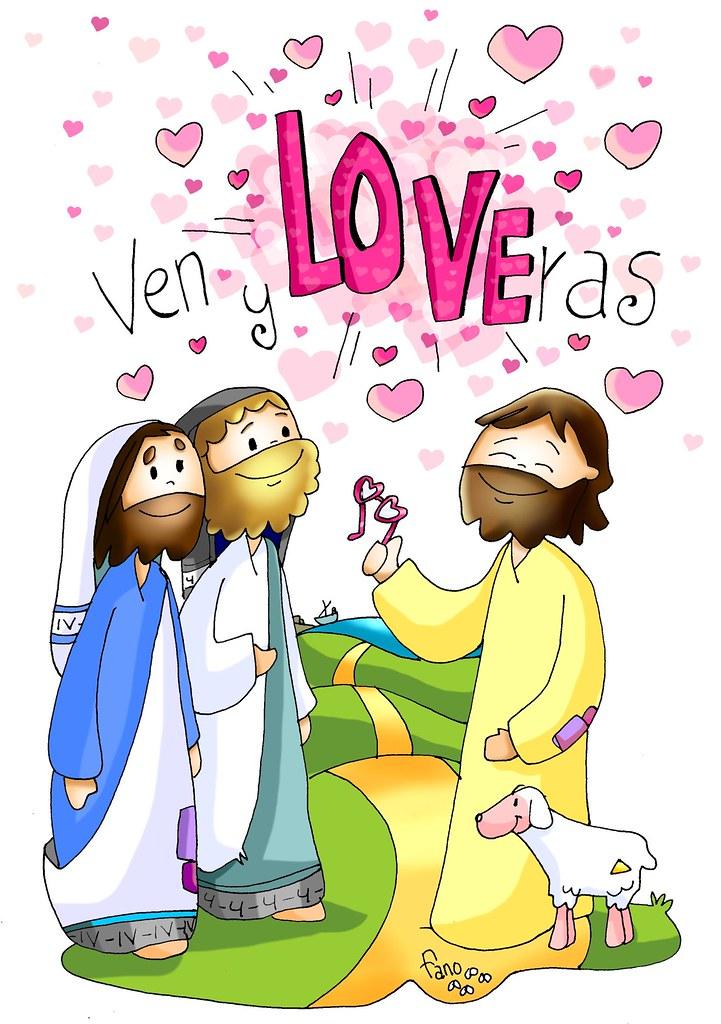 Seguir a Jesús es contemplar el amor