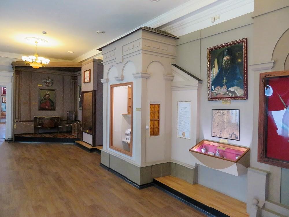 По следам Полтавской битвы: музей, часть 1