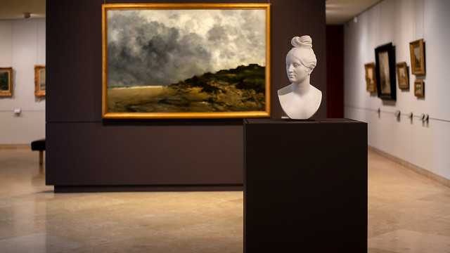Buste de ?, musée des beaux-arts de Caen, 2018