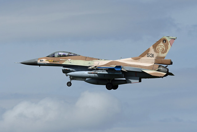 Israel Air Force General Dynamics F-16C Barak 531