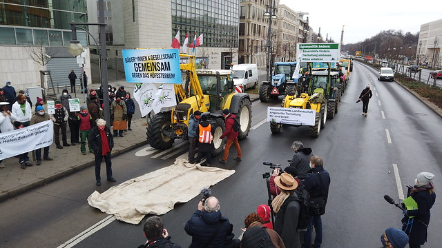 Traktoren-Demo 2021