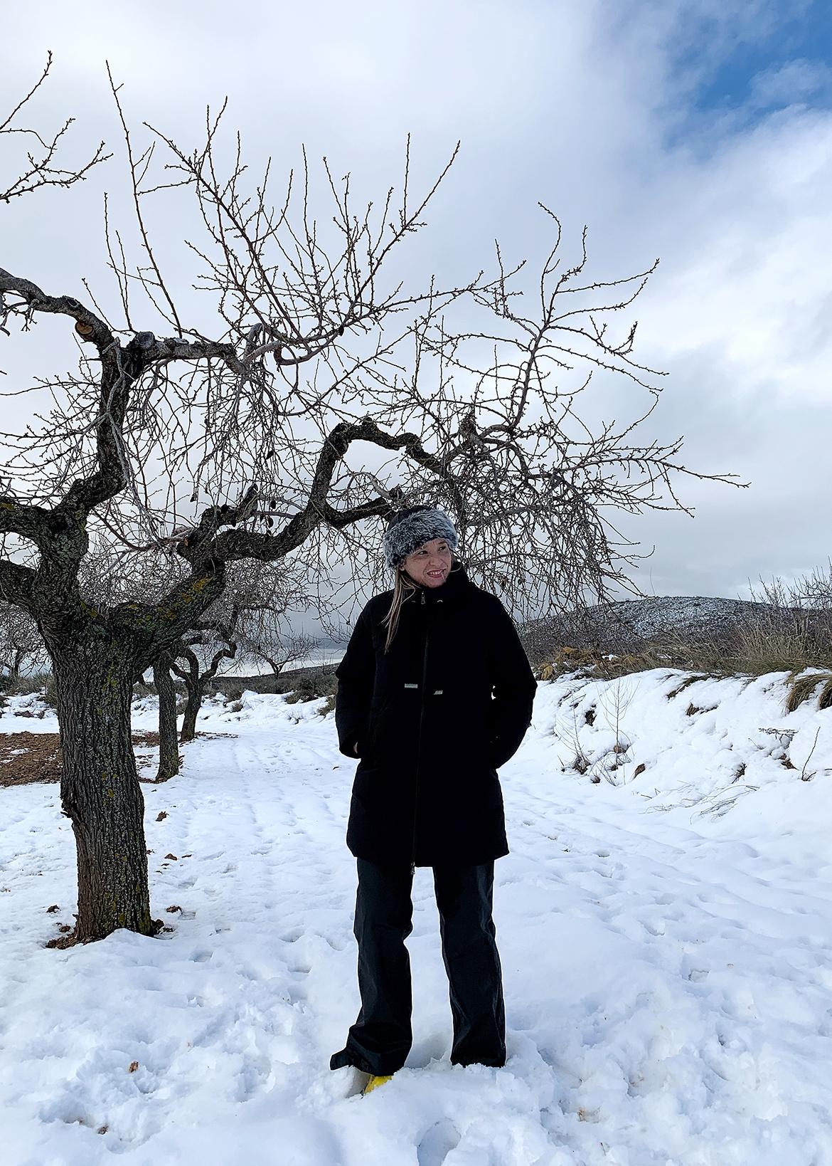 Borrasca Filomena a su paso por Valencia, ¡nieve y más nieve!