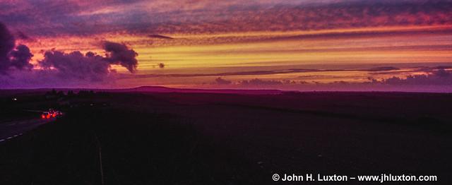 COR_0704 - A30 Sunset - Cornwall