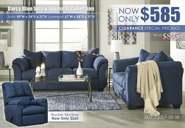 Darcy Blue Sofa & Loveseat_75007-38-35-T004