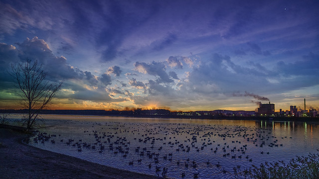 Nuages au lever du soleil / Cloudy Sunrise