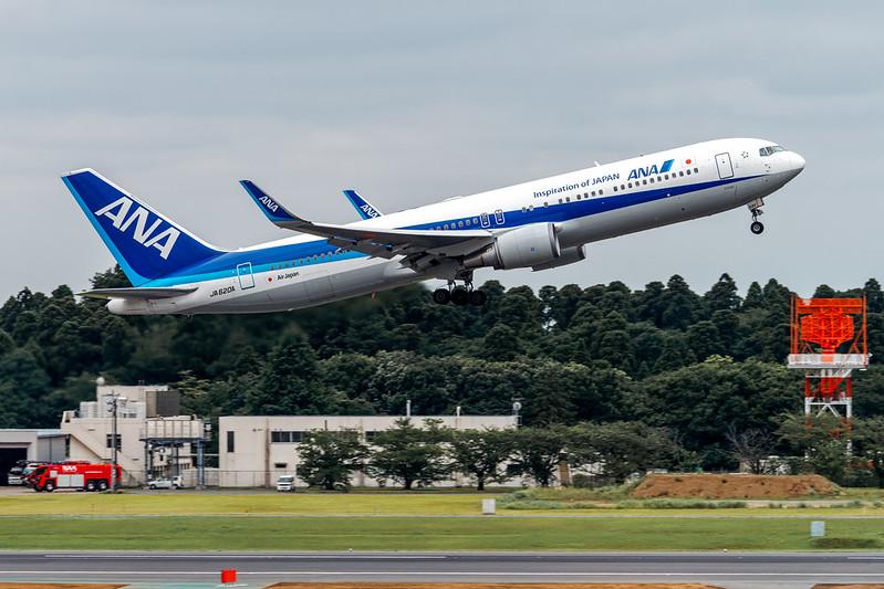 All Nippon Airways Boeing 767-300Er Ja620A
