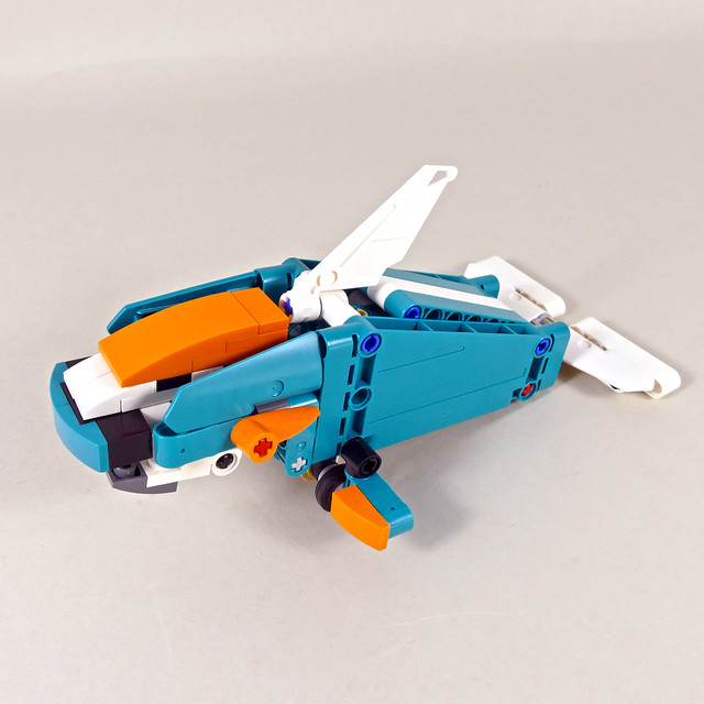 Whale - LEGO Technic 42117 D Model with FREE INSTRUCTIONS!!!