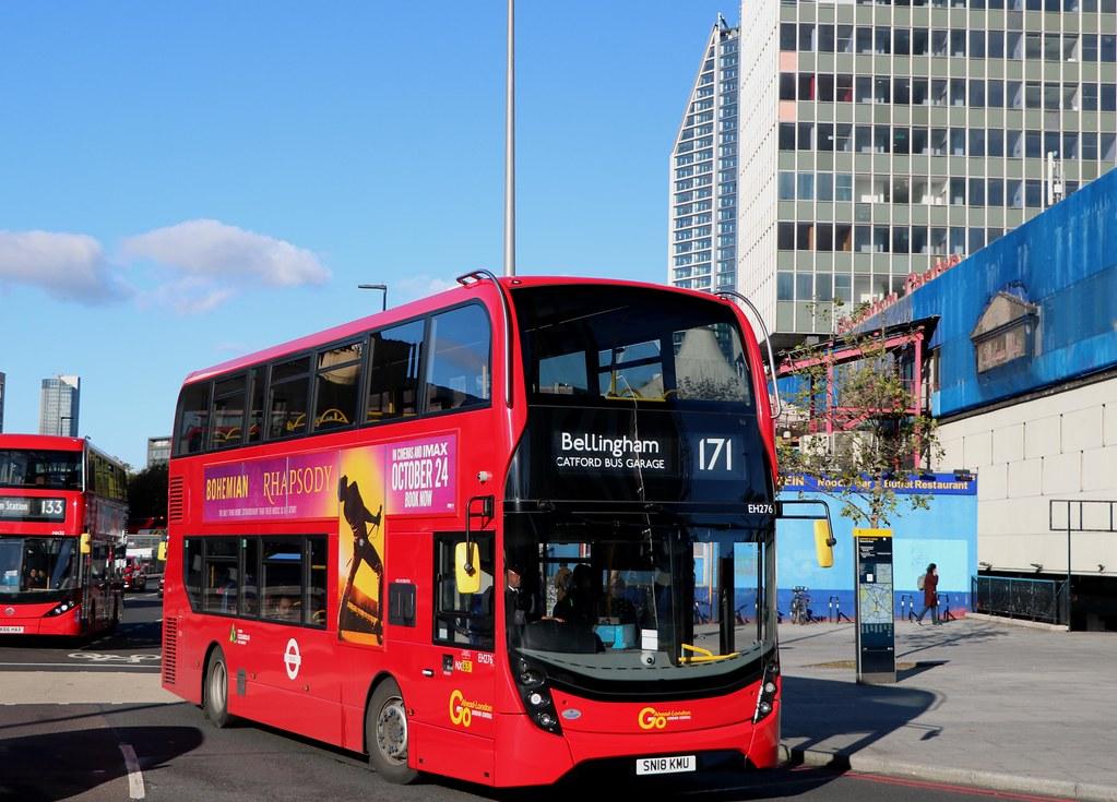 Go Ahead London Central - EH276 - SN18KMU