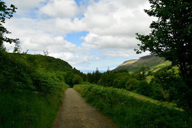 180708 Noord-Ierland - Giants Causeway - 12 Glenariff Forest 1065