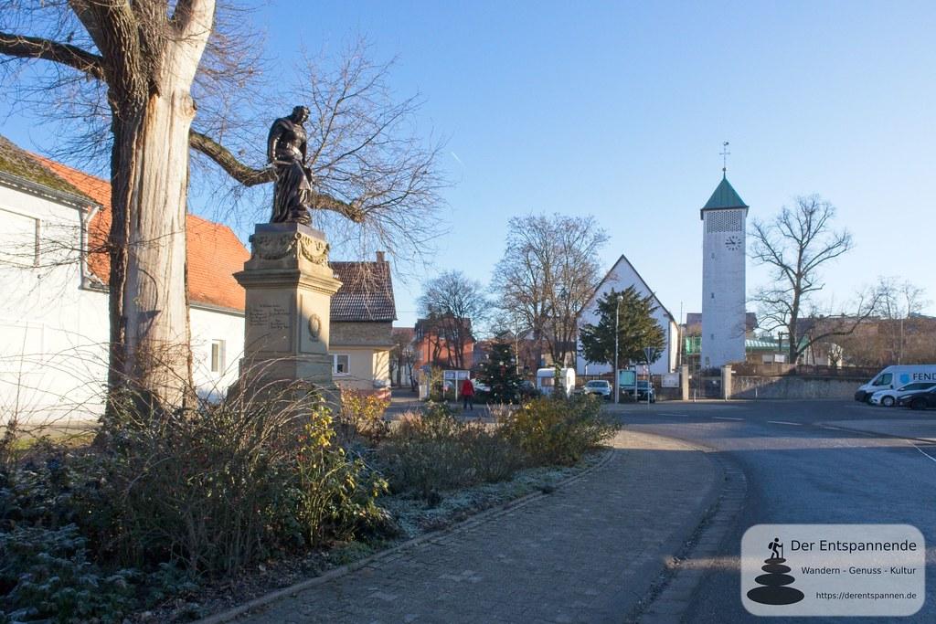 Dalheim mit evangelischer St. Georgskirche