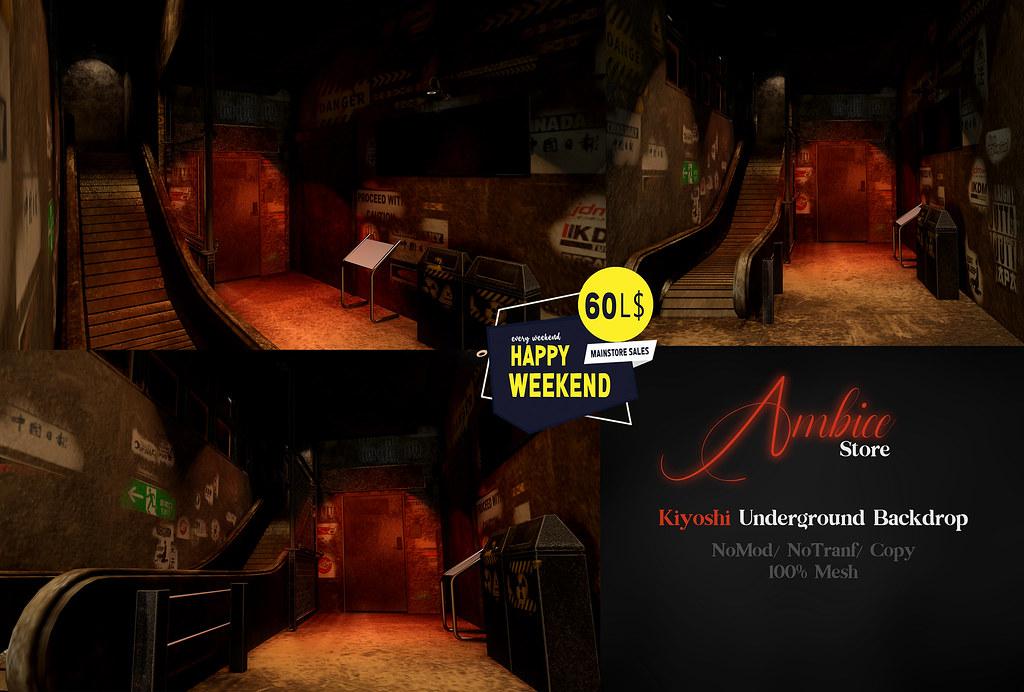 [ A M B I C E ] – Kiyoshi Underground Backdrop