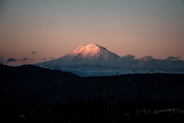 Mt Adams at sunset - Oregon