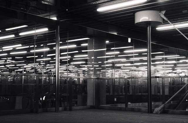 Rotterdam, metro station