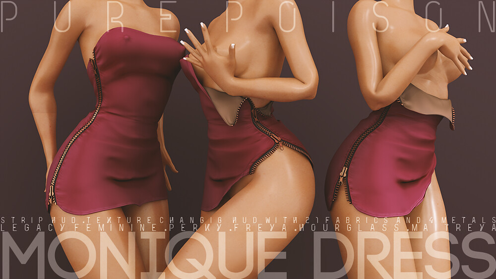 Pure Poison – Monique Dress – Wanderlust Weekend, 50L