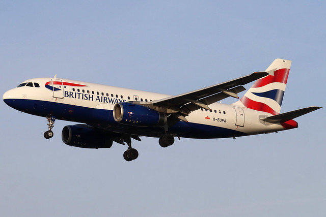 British Airways G-EUPA LHR 05/02/20
