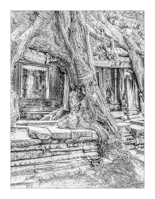 5997SEhb  The Destruction of Preah Khan