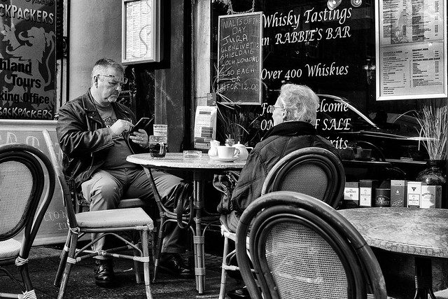 Rabbie's Restaurant and Whisky Bar, Royal Mile, Edinburgh