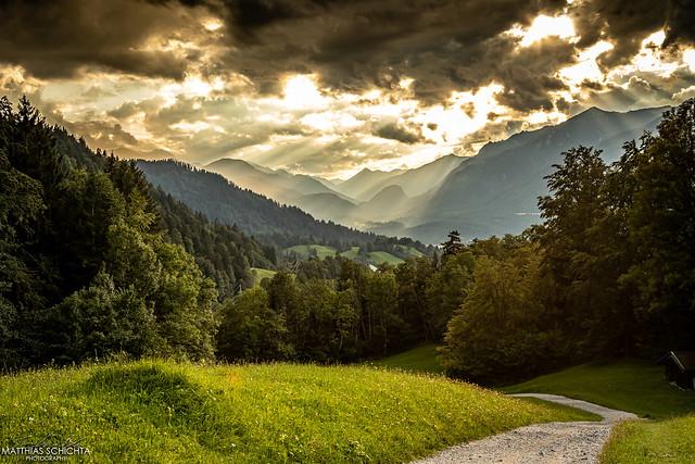 Garmisch - Blick von Warnberg