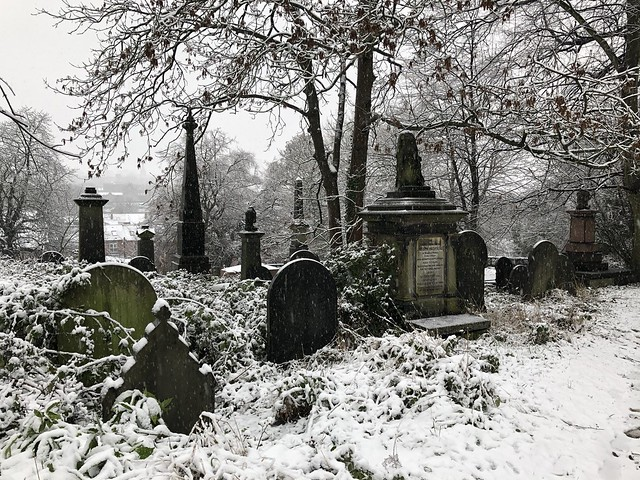 Sheffield's General Cemetery, January 2021