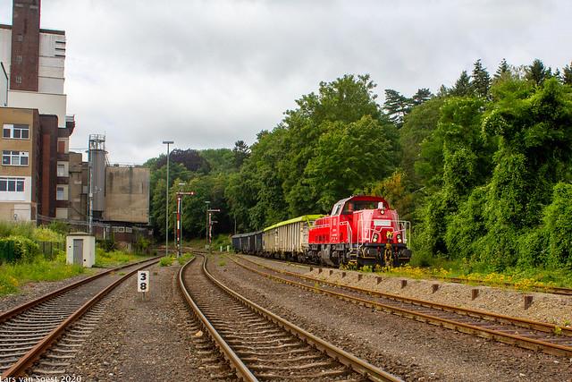 DBC 261 102 +Loodertstrein te Stolberg Altstadt -09-07-2020