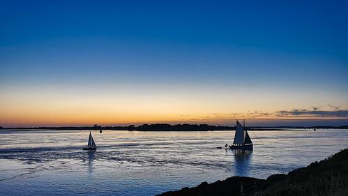 sunset sail voilier morbihan