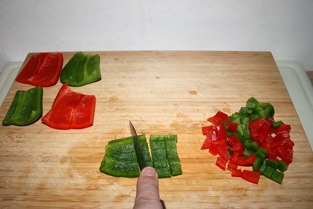 12 - Dice bell pepper / Paprika würfeln