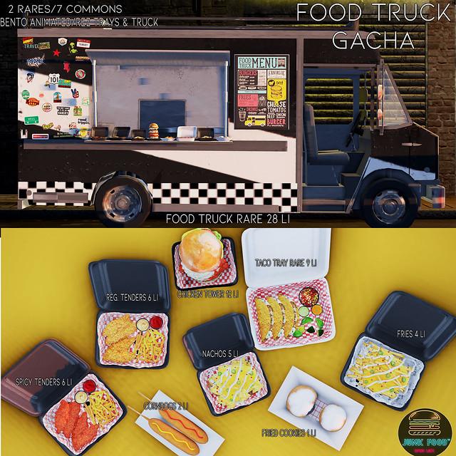 Junk Food - Food Truck Gacha