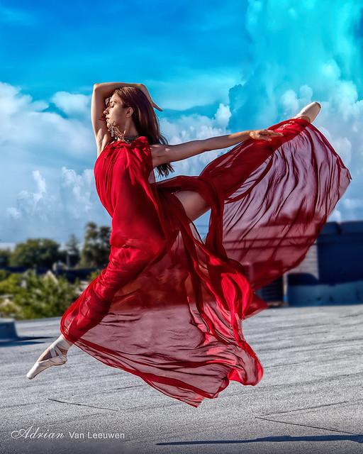 Stylish National Ballerina Julia Pochko ...  in HDR