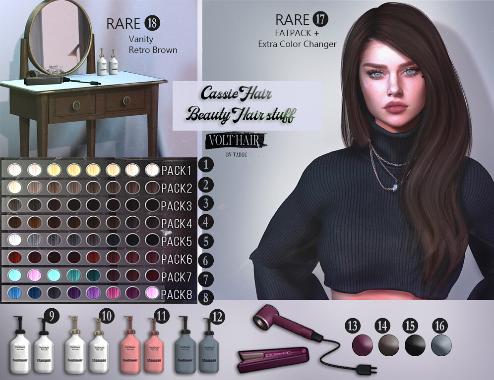 Cassie Hair + Beauty Tools