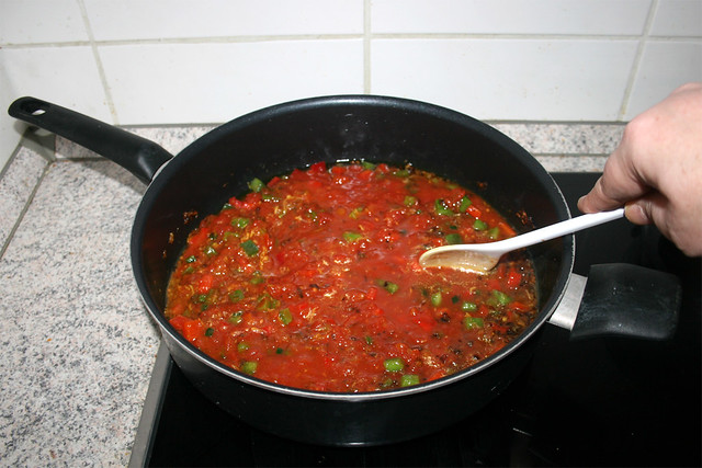 38 - Stir & bring to a boil / Verrühren & aufkochen lassen