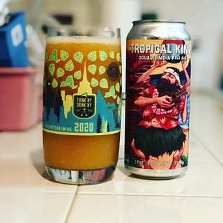 It's Saturday and time for the local brewery spotlight! This week it's Tropical Kind DIPA from the folks at @three_heads_brewing This year's version features lots of mango and passion fruit. Now that many local #ROC breweries are seating again don't forge | by tommasz
