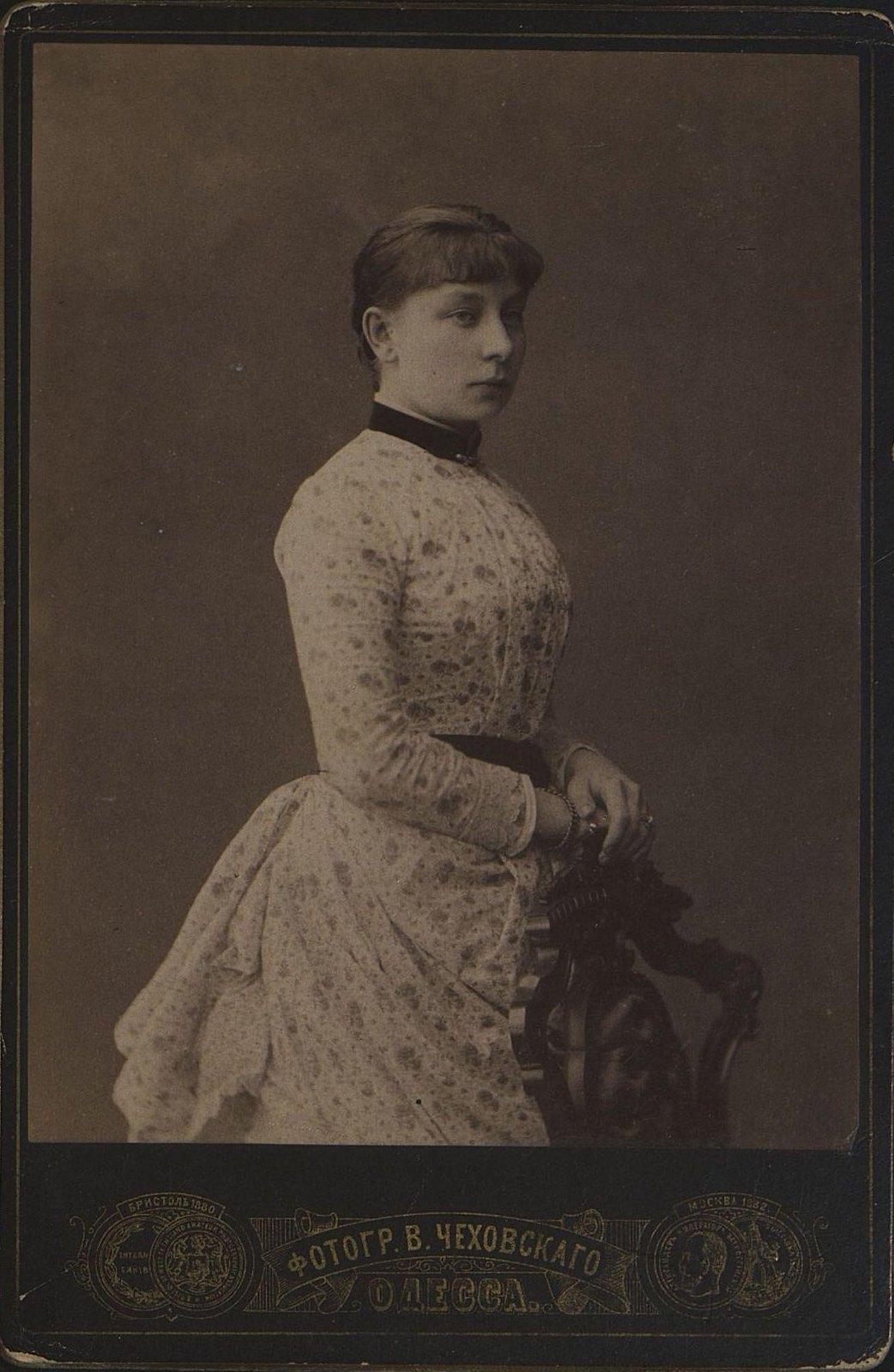 Маслова Елизавета Николаевна. 14 октября 1884