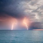 Lightning offshore