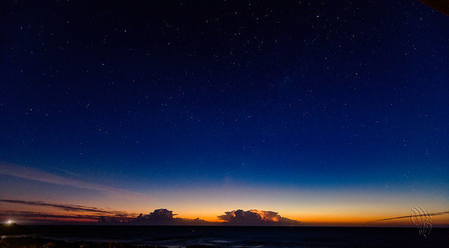 Start of the Day - Jan 16, 2021 - Storm at Dawn, Port Macquarie, Mid-North Coast, NSW