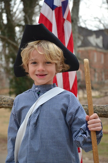 Everett In Colonial Williamsburg