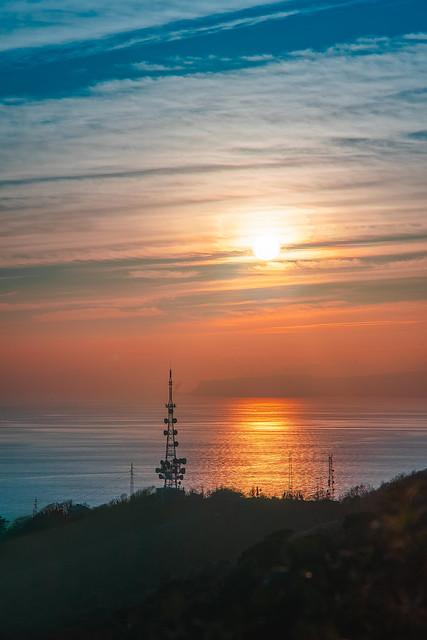 Antemna sunset
