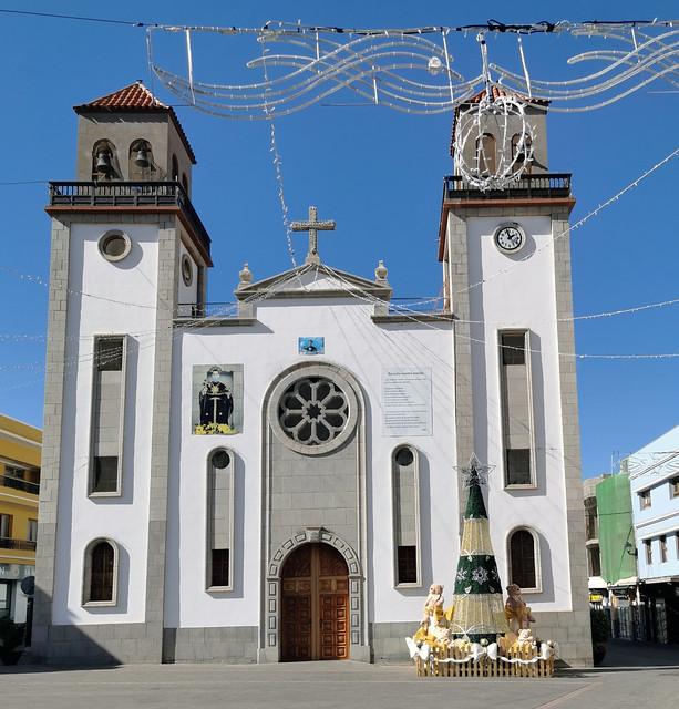 exterior Iglesia de San Nicolás de Tolentino La Aldea Gran Canaria 02